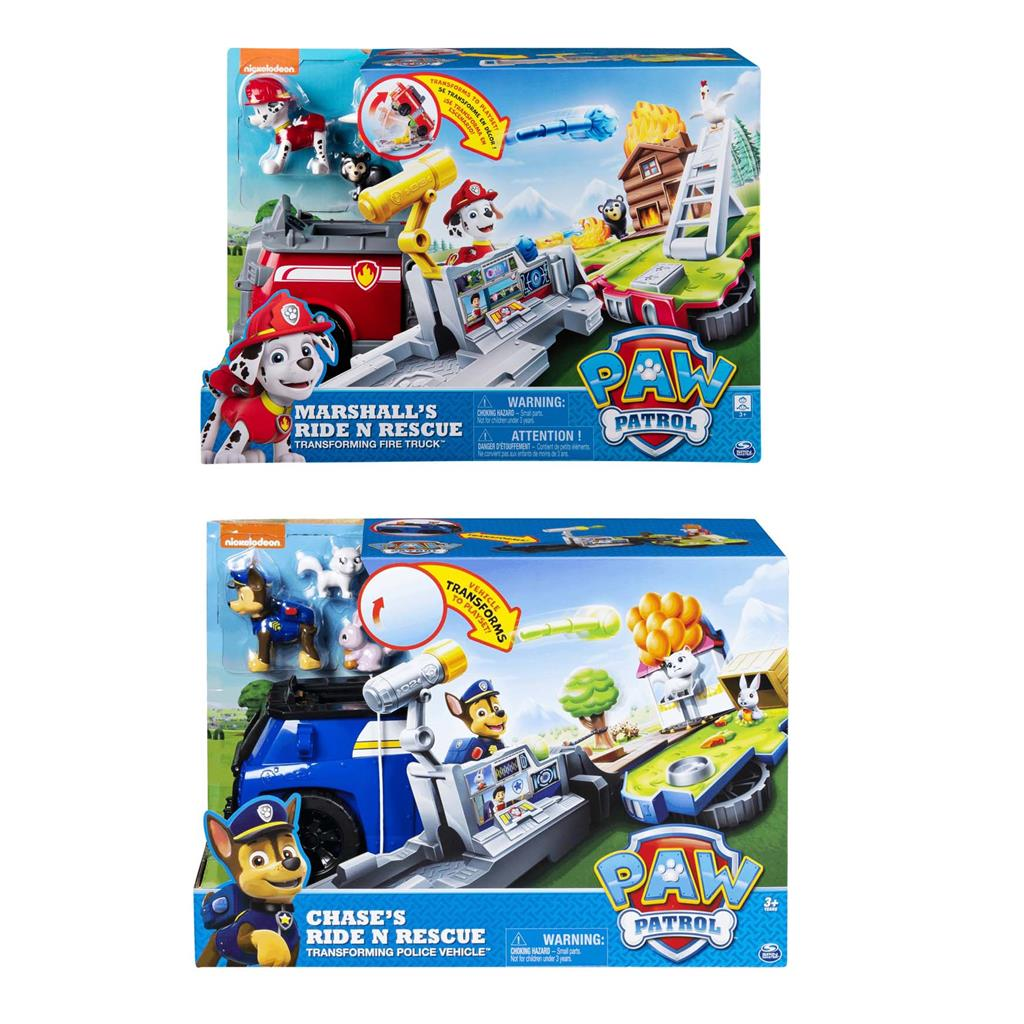 PAW PATROL RESCUE VEHICLE