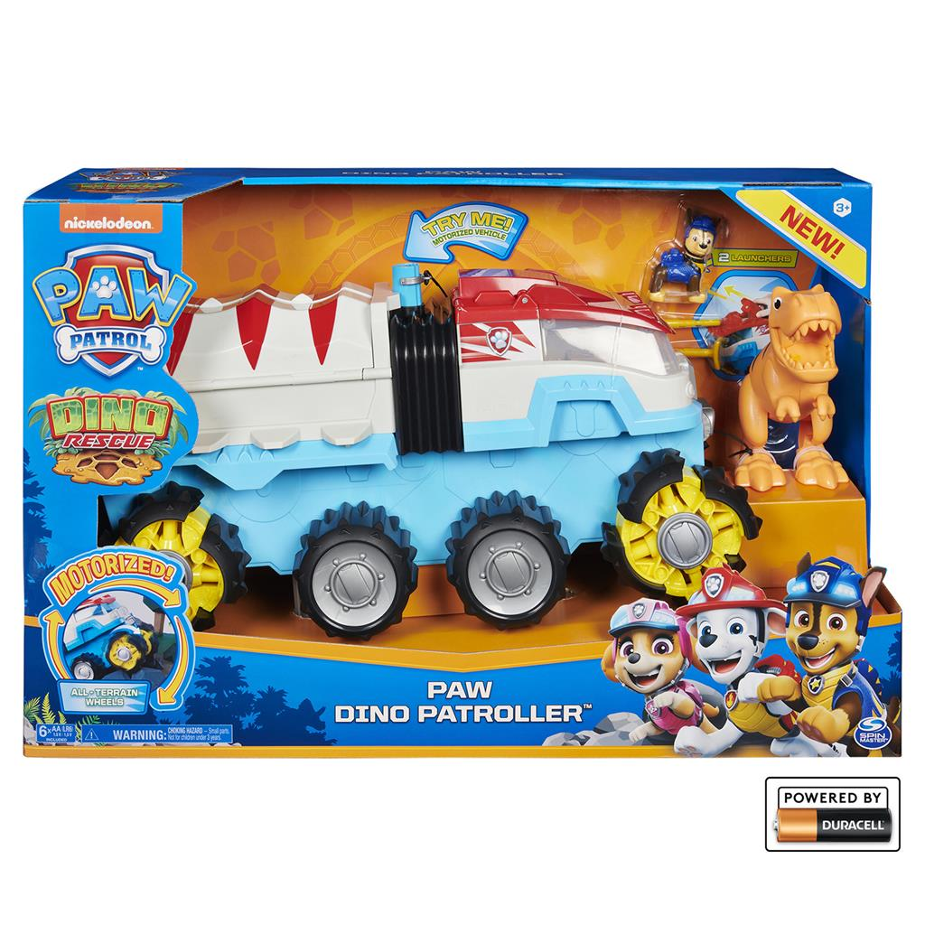 PAW PATROL DINO RESCUE TEAM VEHICLE