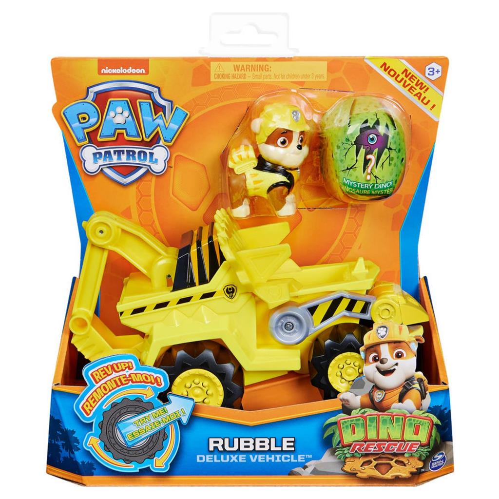 PAW PATROL DINO DE LUXE THEMED VEHICLE RUBBLE