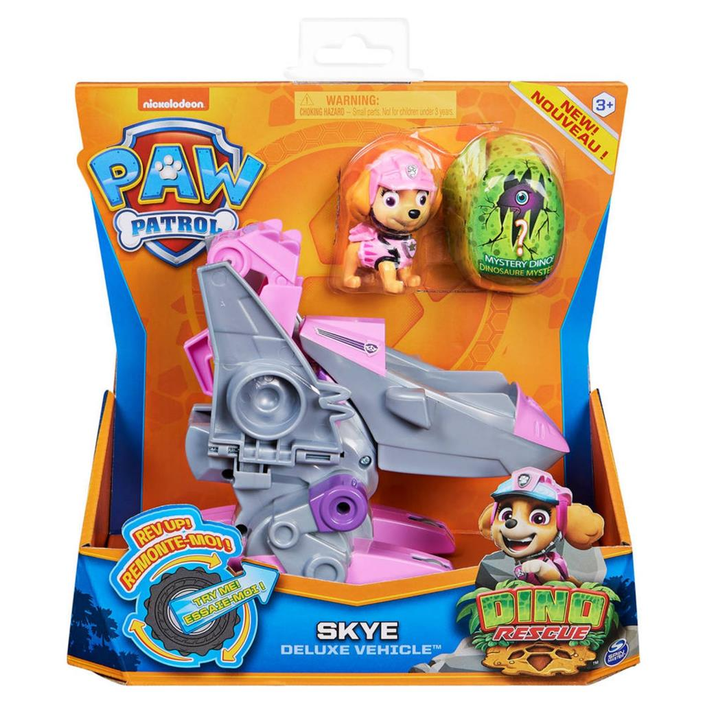 PAW PATROL DINO DE LUXE THEMED VEHICLE SKYE