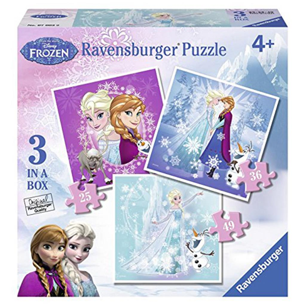 PUZ FROZEN FEVER 3 IN 1