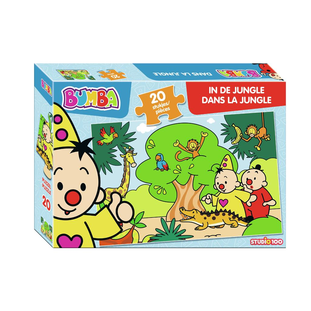 PUZZEL BUMBA 20 STUKJES IN DE JUNGLE