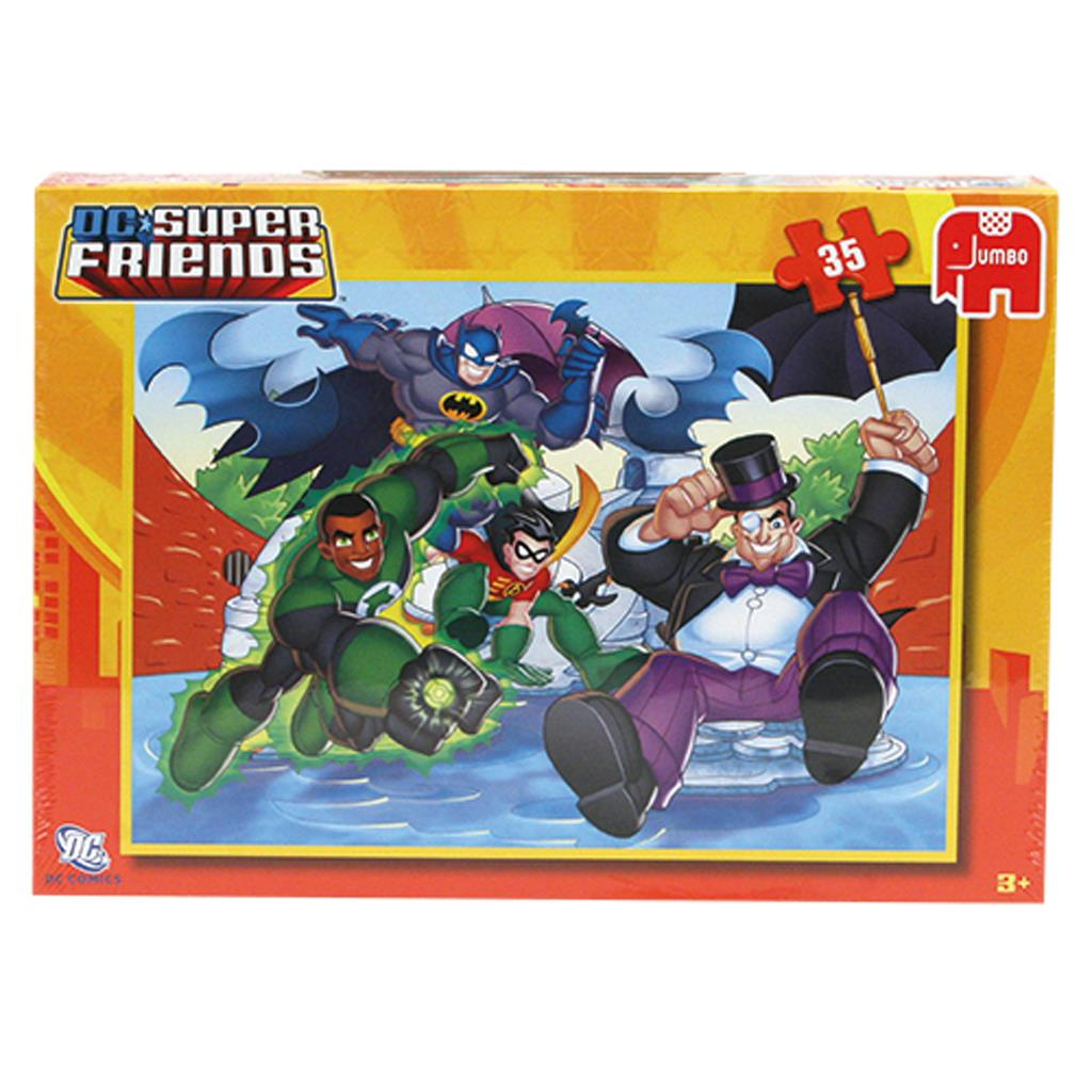 PUZZEL SUPER FRIENDS 35 STUKJES