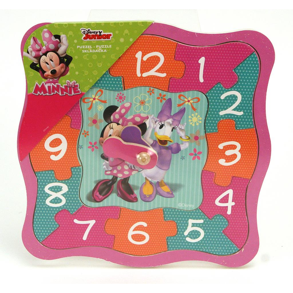 PUZZEL KLOK MINNIE