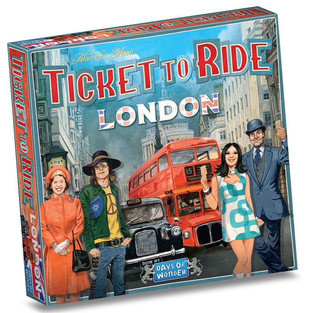 SPEL TICKET TO RIDE LONDON