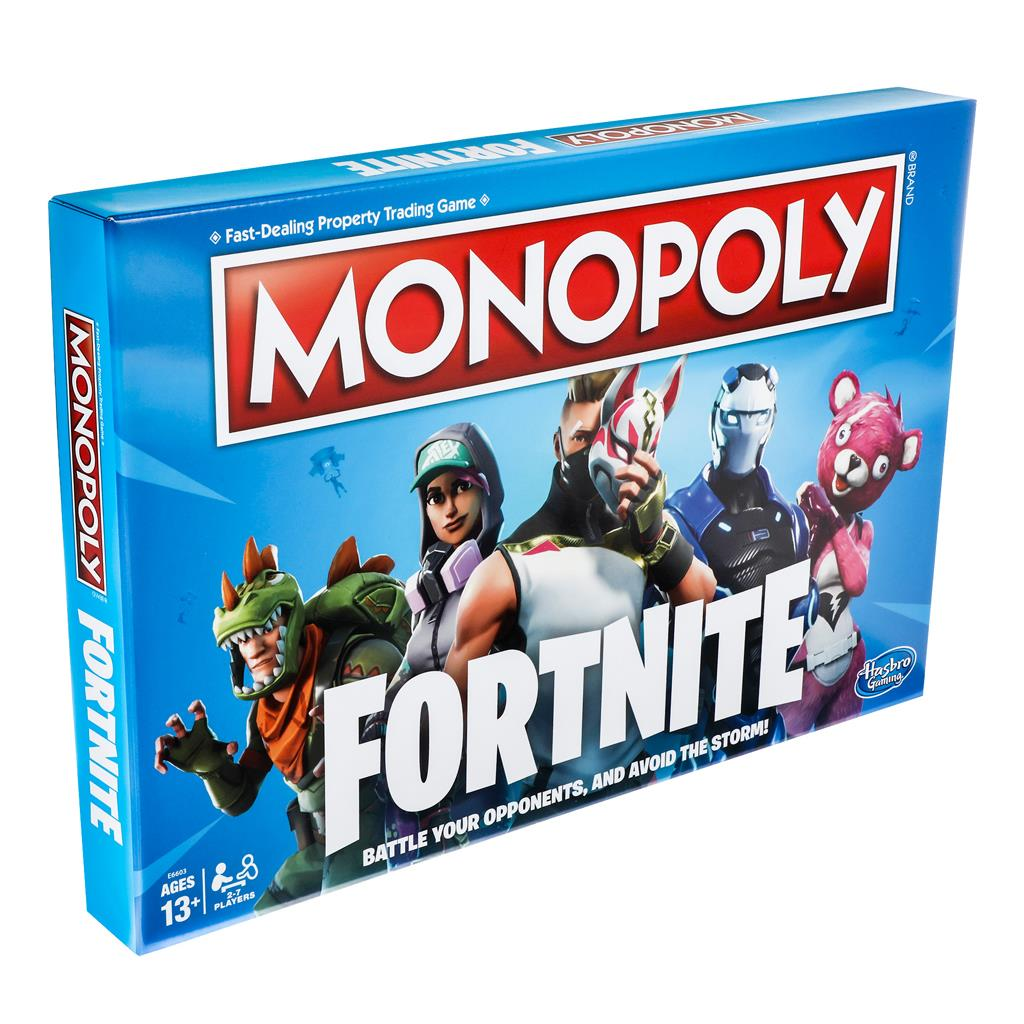 SPEL MONOPOLY FORTNITE