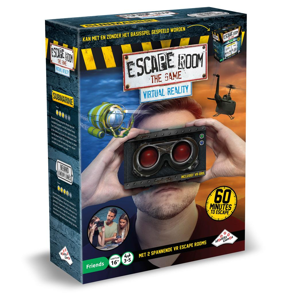 SPEL ESCAPE ROOM VIRTUAL REALITY SET