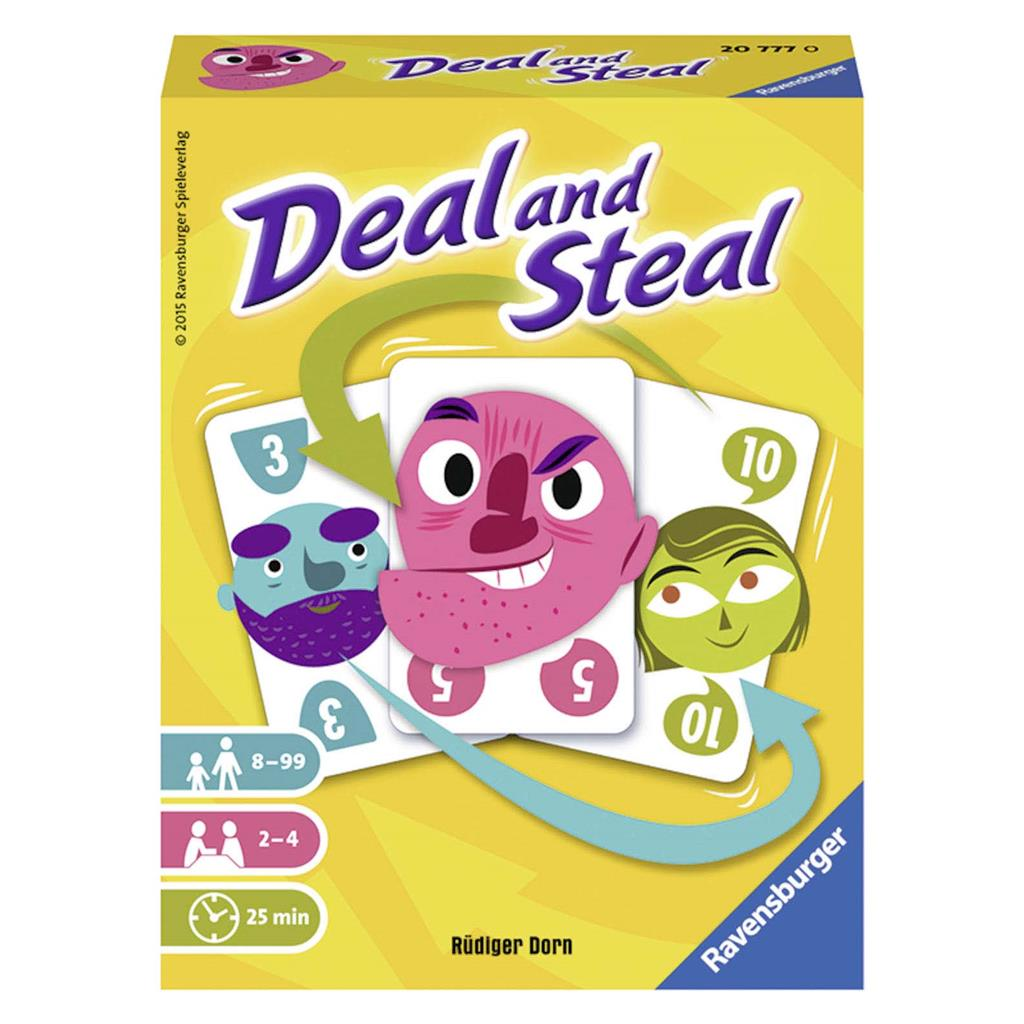 SPEL KAARTSPEL DEAL AND STEAL