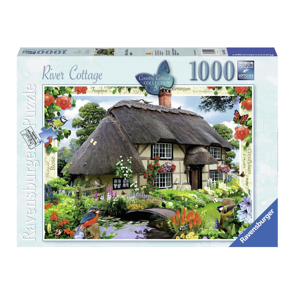 PUZZEL COUNTRY COTTAGE 1000 ST