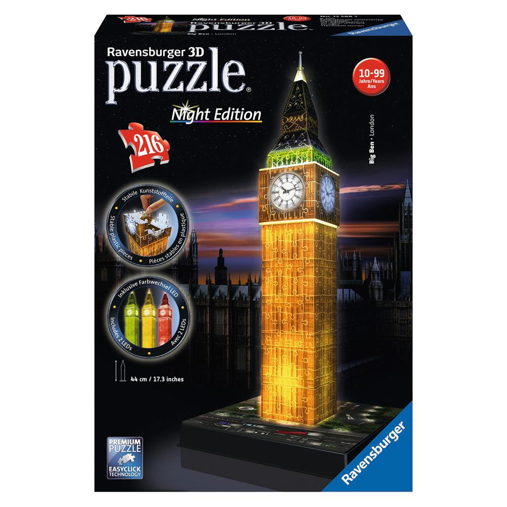 PUZ 3D BIG BEN NIGHT EDITION