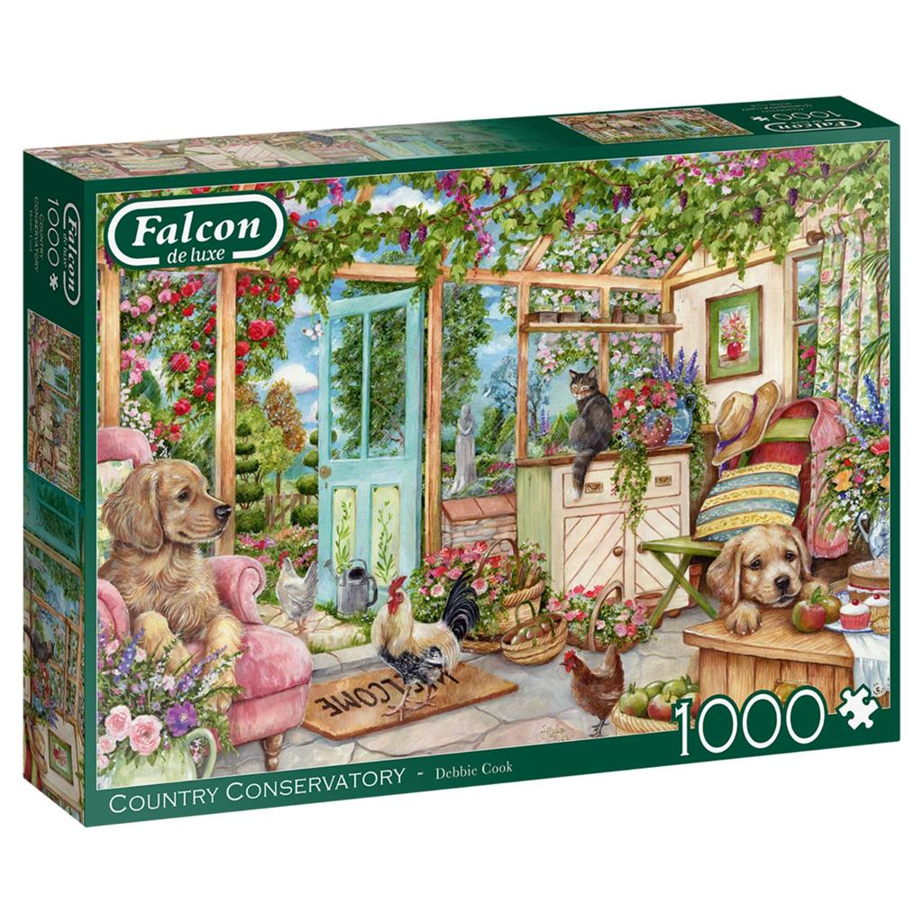 PUZZEL COUNTRY 1000 ST