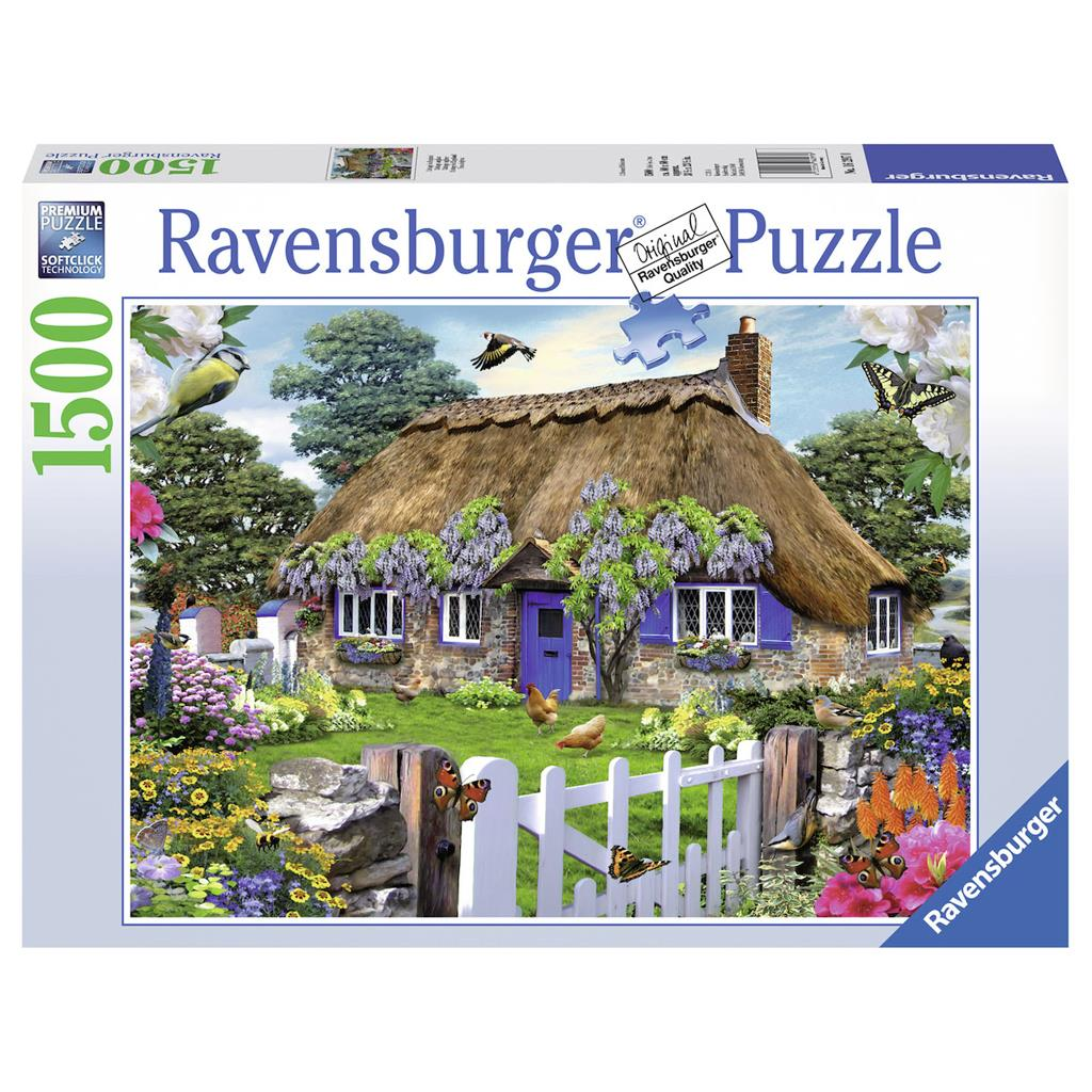 PUZZEL COTTAGE IN ENGELAND 1500ST