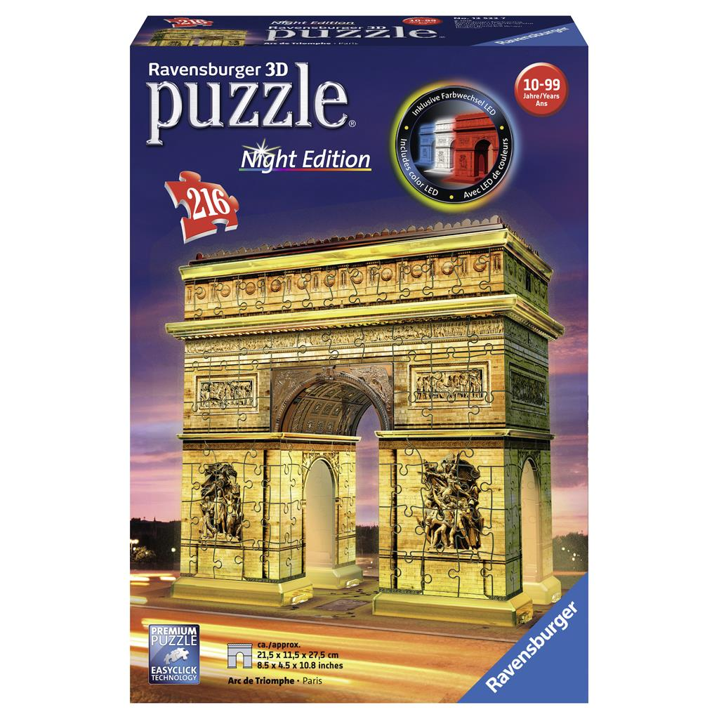 PUZ 3D ARC DE TRIOMPHE NIGHT EDITION