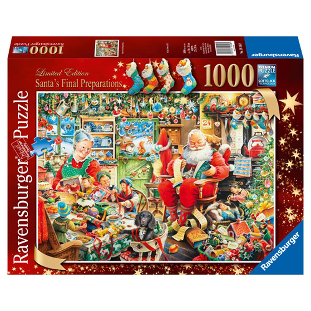 PUZZEL 1000 ST CHRISTMAS