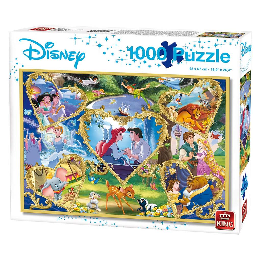 PUZZEL MOVIE MAGIC 1000 STUKJES