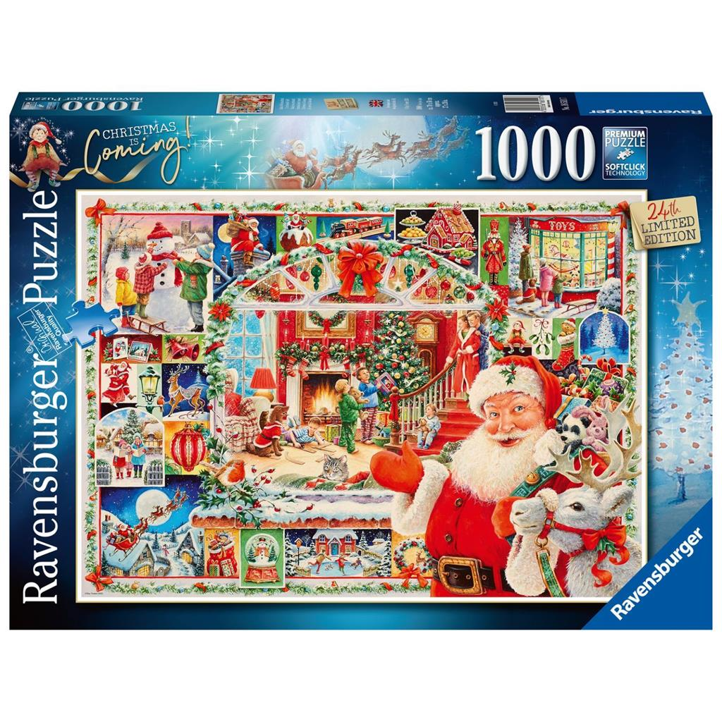 PUZZEL 1000 ST CHRISTMAS IS COMING