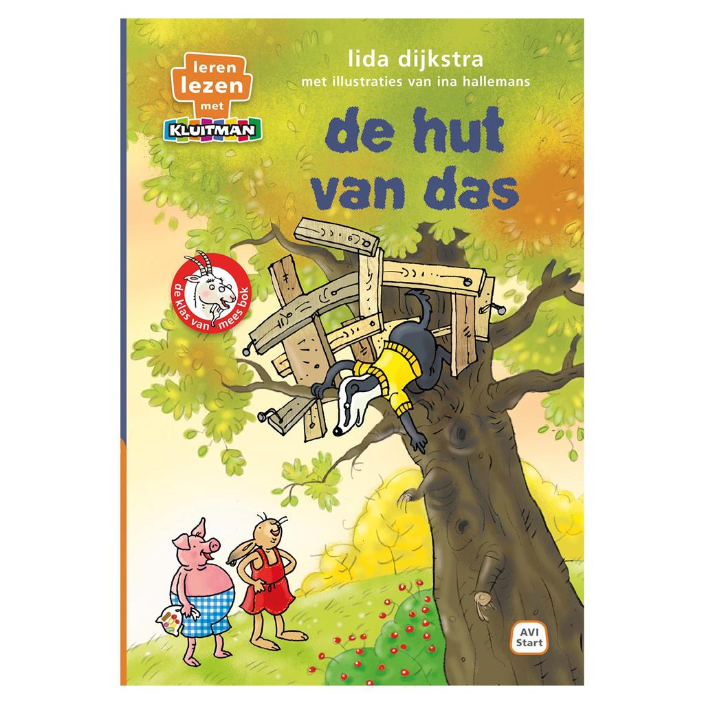 BOEK AVI START DE HUT VAN DAS