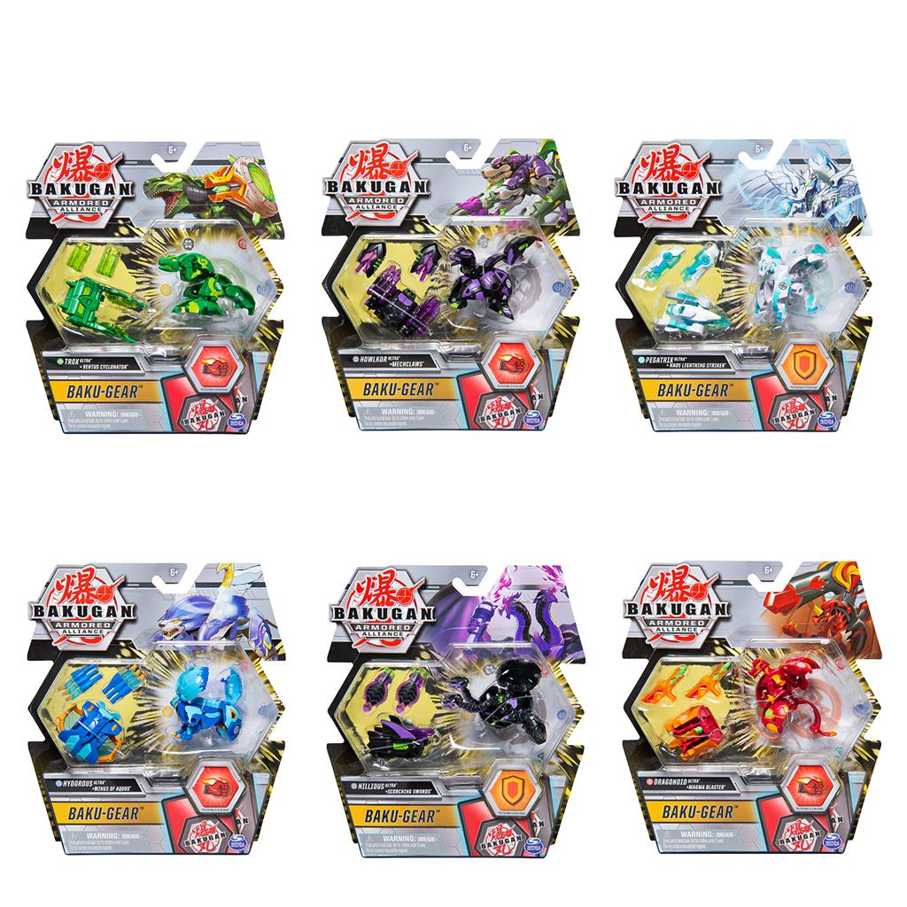 BAKUGAN S2.0 ULTRA BALL WITH GEAR 1 PACK