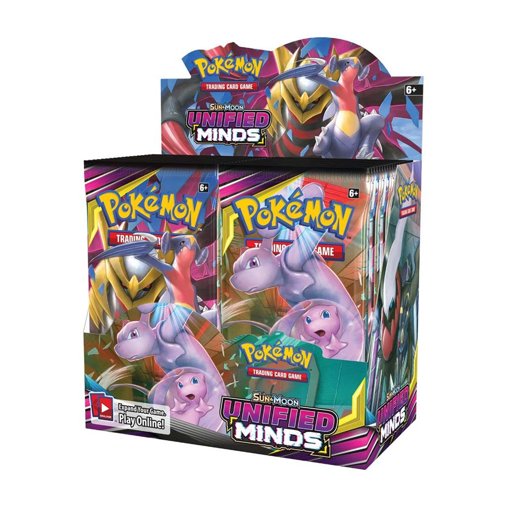 POKEMON TCG SUN & MOON UNIFIED MINDS BOO