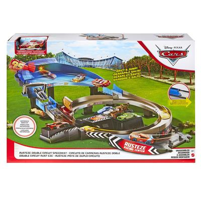 CARS RUSTEZE 95 BOOSTED RACE TRACK SPEELSET