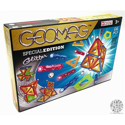 GEOMAG GLITTER SPECIAL EDITION 66 PCS